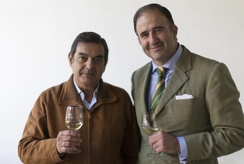 Manolo Lozano y Luis Caballero González Gordón