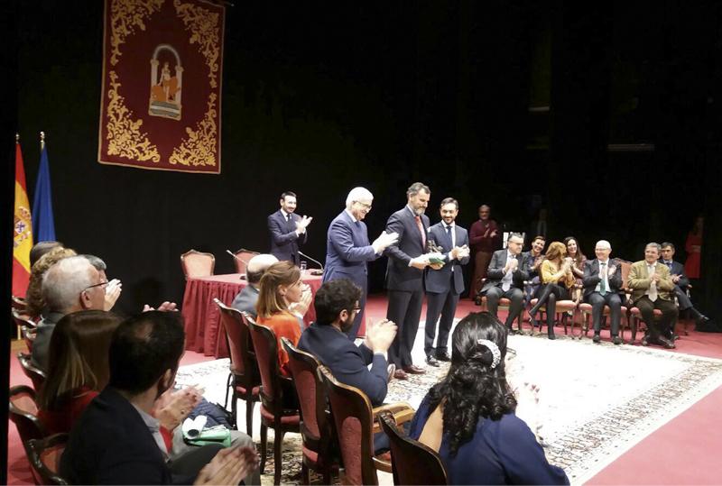 Grupo Luis Caballero recibe la Bandera de Andalucía Cádiz 2017