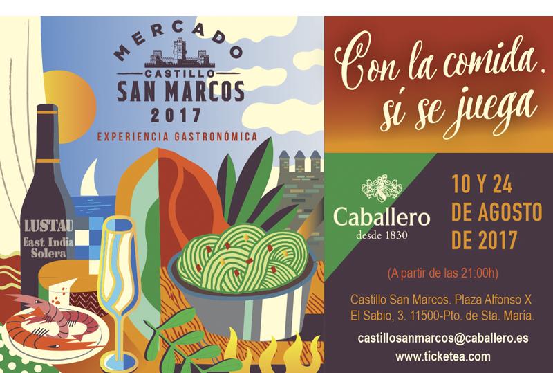 Ciclo Cultural Mercado del Castillo de San Marcos