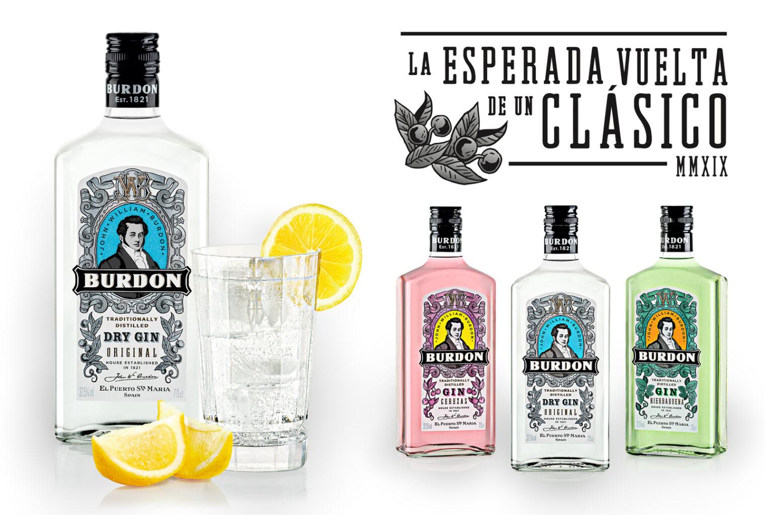 La esperada vuelta de un clásico Burdon Gin