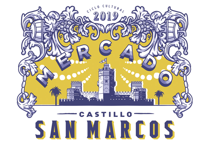Ciclo Cultural 2019 Mercado Castillo d eSan Marcos