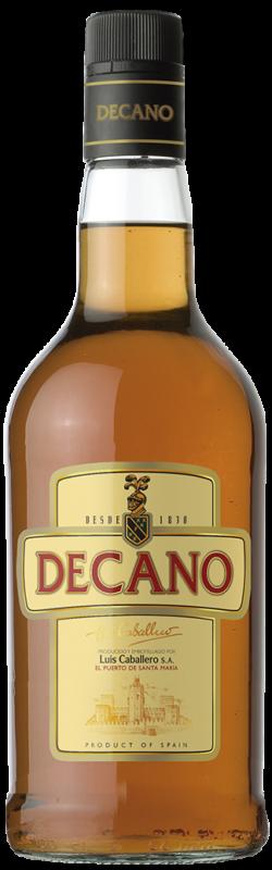 Botella de Brandy Decano