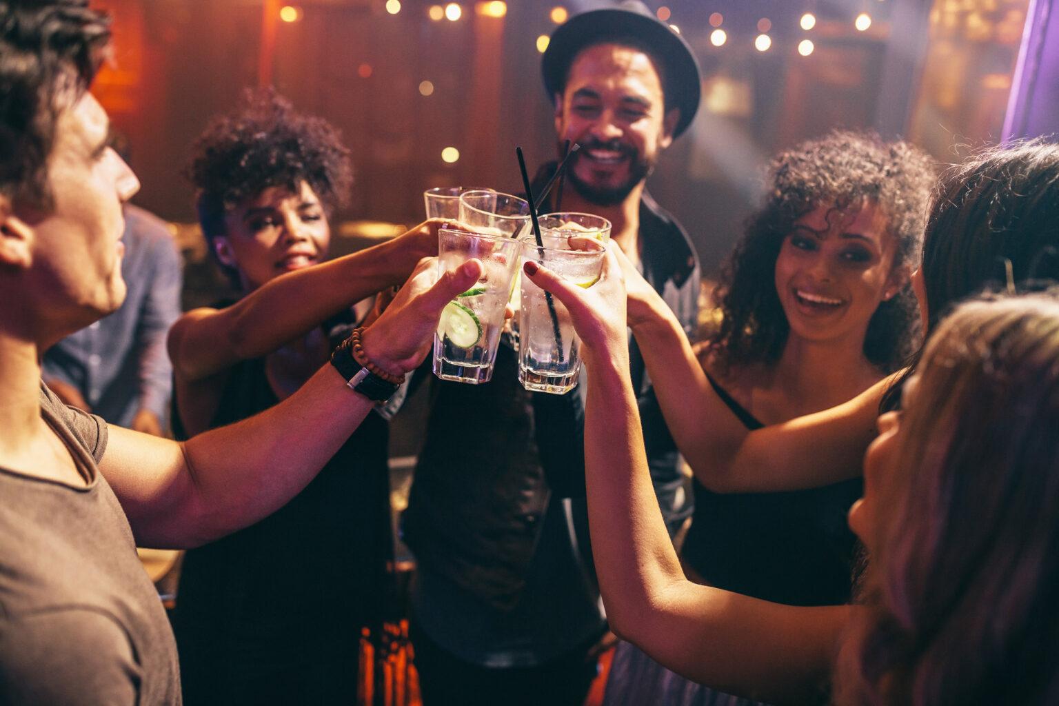 De fiesta con Burdon Gin