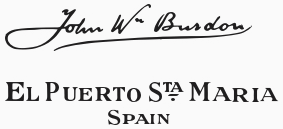 Firma de John Burdon