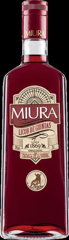 Botella De Licor de Guindas Miura