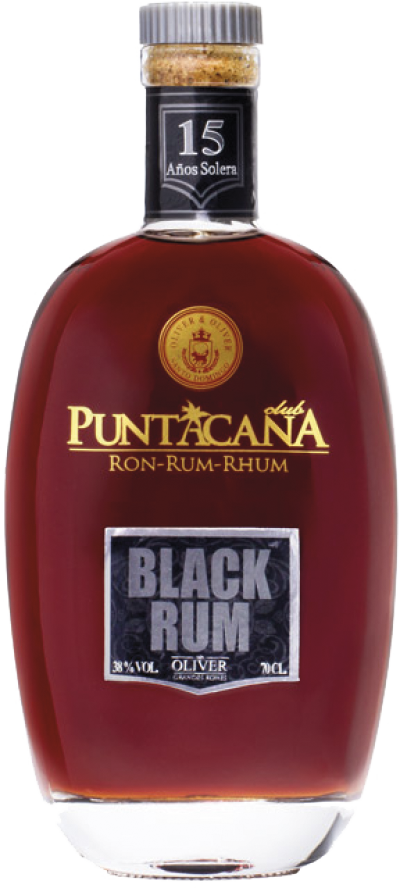 Botella de Ron Puntacana Black