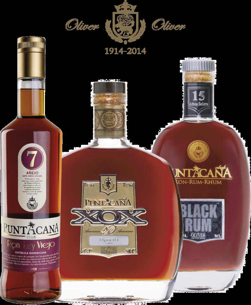Botellas de Ron Añejo Puntacana