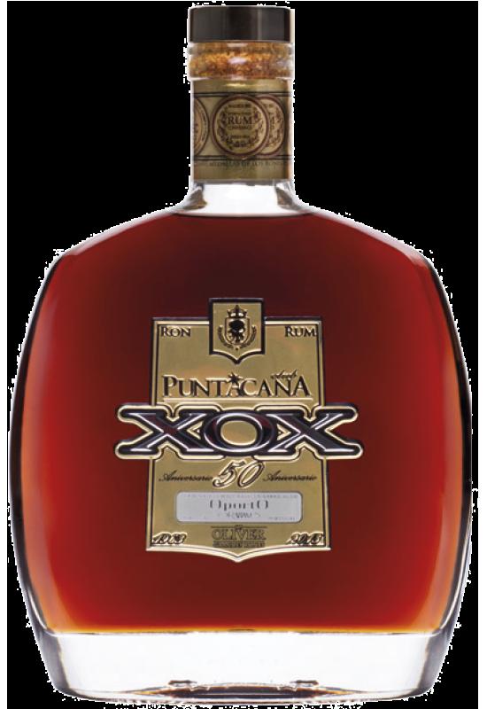 Botella de Ron Puntacana XOX