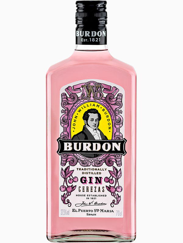 Burdon Gin Cerezas
